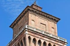 Estense Castle. Ferrara. Emilia-Romagna. Italy. Stock Photography