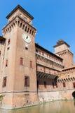 Estense Castle. Ferrara. Emilia-Romagna. Italy Royalty Free Stock Images