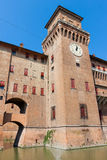Estense Castle. Ferrara. Emilia-Romagna. Italy Royalty Free Stock Photos