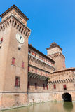 Estense Castle. Ferrara. Emilia-Romagna. Italy Royalty Free Stock Photo