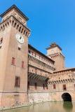 Estense Castle. Ferrara. Emilia-Romagna. Italy Royalty Free Stock Photo