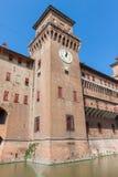 Estense Castle. Ferrara. Emilia-Romagna. Italy Royalty Free Stock Photos