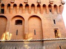 Estense Castle in Ferrara, Italy Stock Photos