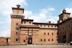 The estense castle Stock Image