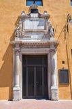 Estense Hall Entrance. Ferrara. Emilia-Romagna. Italy. Royalty Free Stock Photos