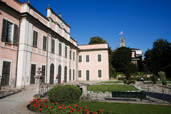 Estense palace in varese Royalty Free Stock Photo