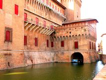 Estense Schloss in Ferrara, Italien Stockfoto
