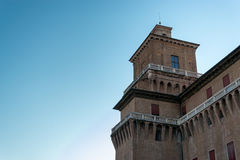 Estensi's Castle in Ferrara Royalty Free Stock Photos