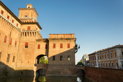 Estensi's Castle in Ferrara Royalty Free Stock Photography