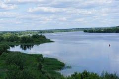 Estensioni del fiume Immagine Stock Libera da Diritti