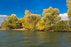 Estensioni del fiume di Astrachan' Immagini Stock