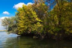 Estensioni del fiume di Astrachan' Immagini Stock Libere da Diritti