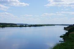 Estensioni di Volga Immagine Stock Libera da Diritti