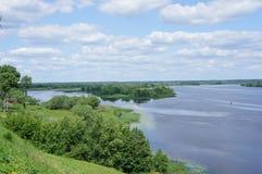 Estensioni di Volga Fotografia Stock Libera da Diritti