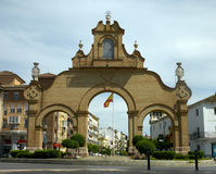 Estepa gate, Antequera. Royalty Free Stock Image
