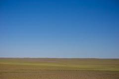 Estepa mongol en septiembre Fotos de archivo libres de regalías
