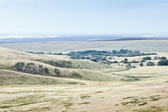 Estepa montañosa Paisaje rural Imagen de archivo
