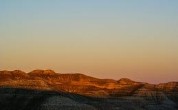 Estepas De Belchite, Saragosse, Aragon, Espagne Photo stock