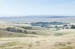 Estepe montanhoso Paisagem rural imagem de stock