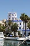 Estepona Jachthaven - Spanje stock fotografie