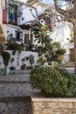 ESTEPONA SPANIEN - Februari 22., 2019 - gata av Estepona, Andalusia, Spanien royaltyfria bilder