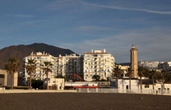 Estepona waterfront, Spain Royalty Free Stock Photography
