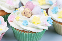 Ester cupcakes Stock Photography