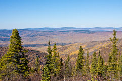 Ester Dome in Fall Stock Photo