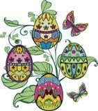 Ester eggs Stock Photo
