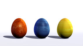 Ester eggs Royalty Free Stock Image