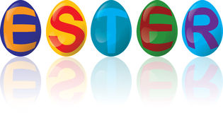 Ester Eggs Stock Photos