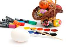Ester eggs decoration Stock Image