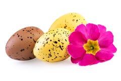 Ester Eggs Isolated Clipping Path ha incluso fotografia stock libera da diritti
