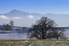 Ester mountains - bavaria Royalty Free Stock Image