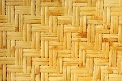 Estera de bambú Imágenes de archivo libres de regalías
