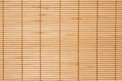 Estera de bambú Fotos de archivo