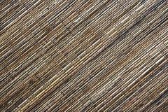 Estera de bambú Fotos de archivo libres de regalías