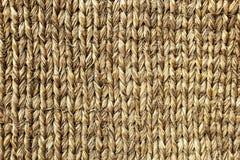 Estera de bambú de tejer grueso foto de archivo