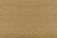 Estera de bambú Visión superior Foto de archivo