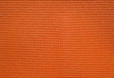 Estera de goma anaranjada fotografía de archivo