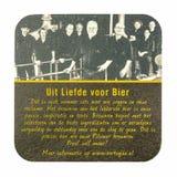 Estera de la cerveza de Hertog enero Imagen de archivo libre de regalías