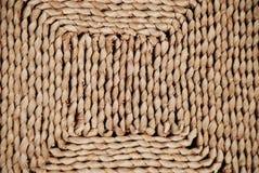 Estera de la hierba secada Imágenes de archivo libres de regalías