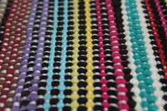 Estera de la materia textil Fotografía de archivo libre de regalías