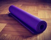 Estera de la yoga Imagen de archivo