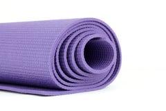 Estera de la yoga Fotografía de archivo libre de regalías