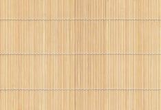 Estera de madera Imágenes de archivo libres de regalías