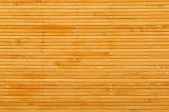 Estera de madera fotografía de archivo libre de regalías