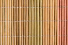 Estera de madera del color foto de archivo