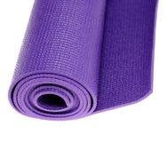 Estera del ejercicio de la yoga Imagen de archivo
