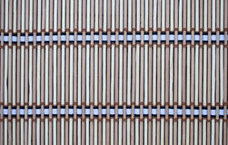 Estera hecha de bambú Fotos de archivo